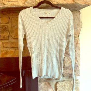 Merona V Neck sweater size small petite